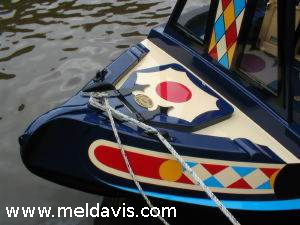 Narrowboat Shell by Mel Davis Boatbuilders
