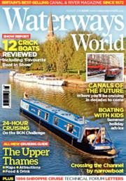 Cover of Waterways World magazine, August 2106